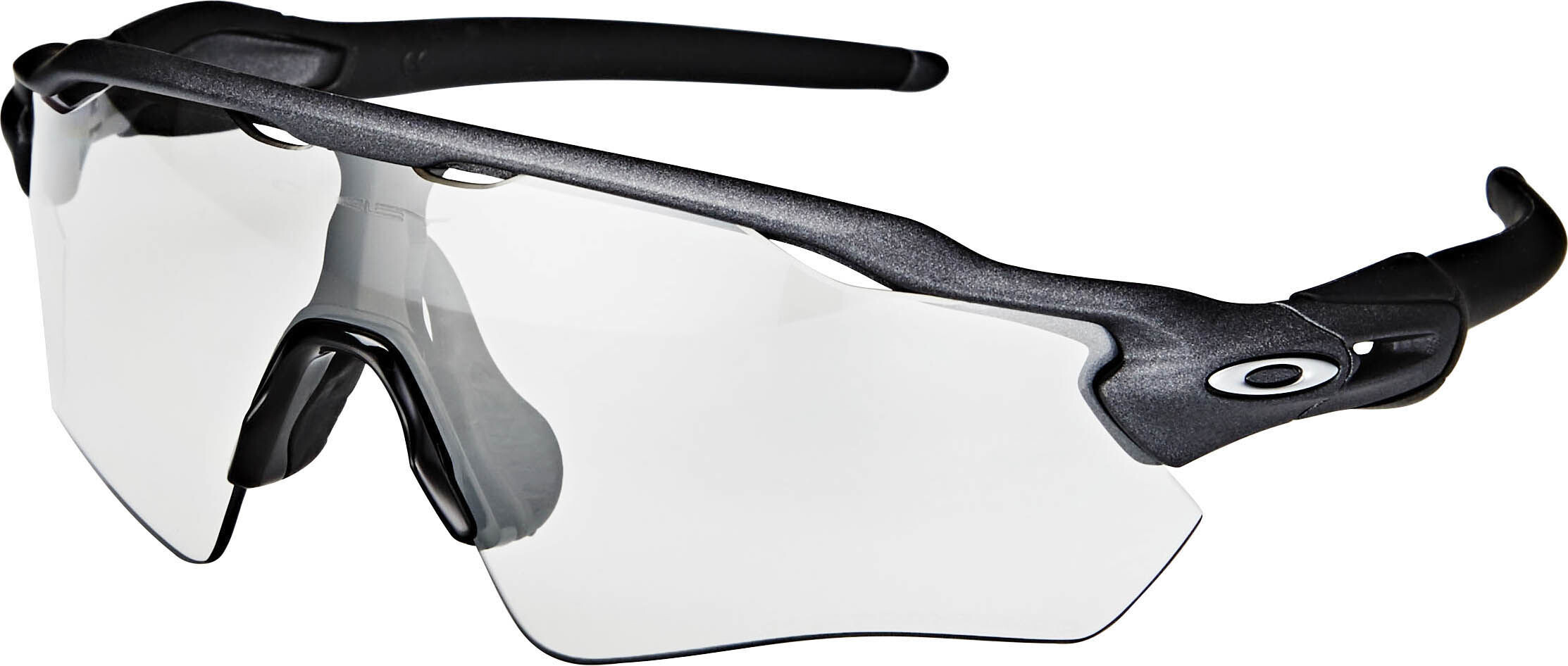 Oakley Radar EV Path Sunglasses Steel/Clear Black Iridium ...